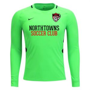 Northtowns Soccer Club Nike Youth Long Sleeve Park Goalie III Jersey - Green Strike NSC-894517-398