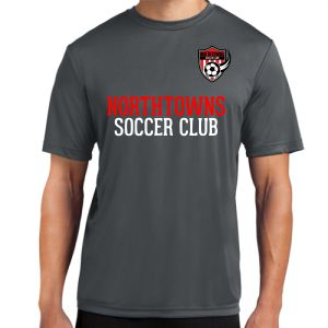 Northtowns Soccer Club Training Jersey - Iron Grey NSC-ST350IG