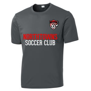 Northtowns Soccer Club Youth Training Jersey - Iron Grey NSC-YST350IG