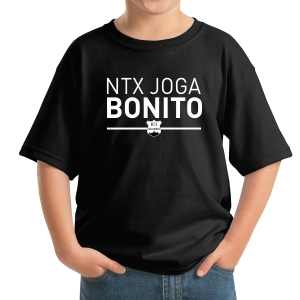 NXT Joga Bonito Youth T-Shirt - Black NXT-5000B