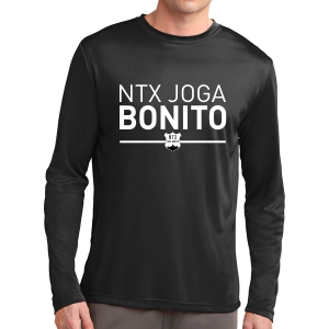 NXT Joga Bonito Long Sleeve Performance Shirt - Black NXT-ST350LS