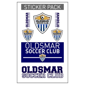 Oldsmar Sticker Pack OLD-Sticker