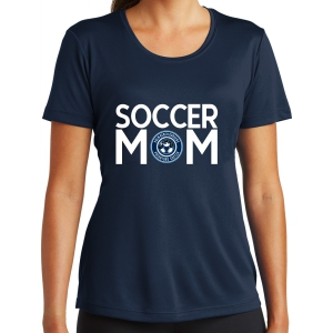 PBG Predators Women's Soccer Mom Performance Shirt - Navy LST350-PBG