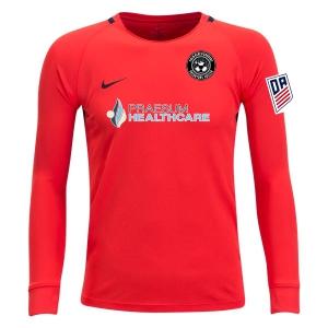 fab4567b8c415 PBG Predators DA Nike Youth Long Sleeve Park Goalie III Jersey - Red PBG-DA