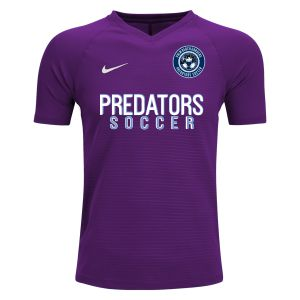 PBG Predators Nike Youth Premier Tiempo GK Jersey - Purple/White PBG-894114-547