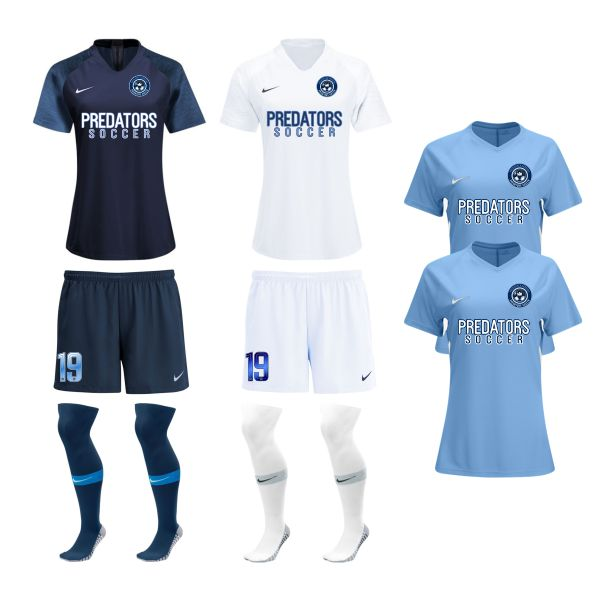 PBG Predators - Women's Required Uniform Kit PRED-WMNRUKT