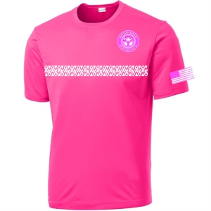 PBG Predators Breast Cancer Awareness Shirt - Neon Pink ST350-BC-PBG