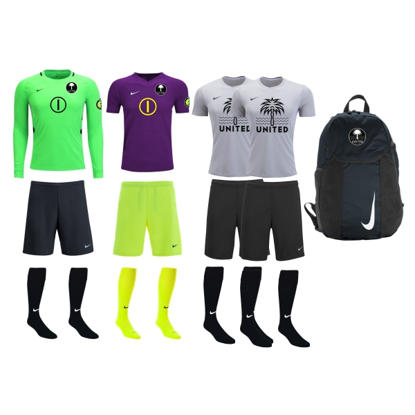 Palm Beach United - Adult Required GK Kit PBU-ADGKKT
