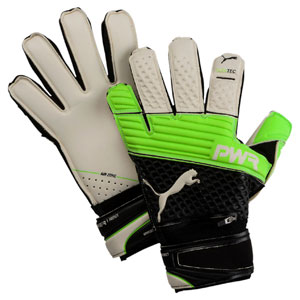 Puma evoPower Protect 1.3 Finger Protection Glove - Green 041216-32