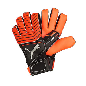 Puma One Protect 18.2 RC Goalkeeper Gloves - Red Blast/Puma Black 041440-22