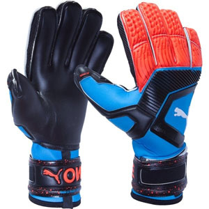 Puma One Protect 18.1 Finger Protection Glove - Blue/Orange 041477-21