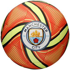 Puma Manchester City Future Flare Fan Soccer Ball 2019 - Peach 083254-34