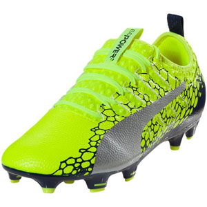 Puma EvoPower Vigor 2 Graphic FG - Safety Yellow/Navy 104451-02