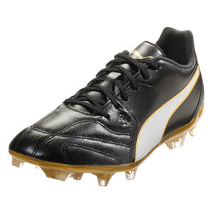 PUMA Capitano II FG - Black/Gold/White 104807-01