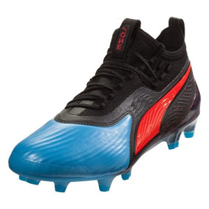 50939a23c65 Puma One 19.1 FG - Blue Red Blast Black 105481-01