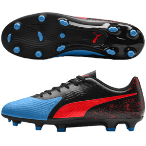 Puma One 19.4 FG - Blue Azur/Red Blast/Black 105492-01