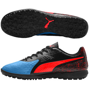 Puma One 19.4 TT - Blue Azur/Red Blast/Black Turf 105495-01