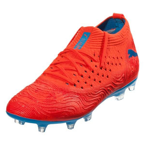 Puma Future 19.2 FG - Red Blast/Blue Azur 105536-01