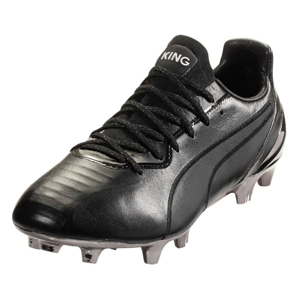 Puma King Platinum FG - Black/Black 105606-01