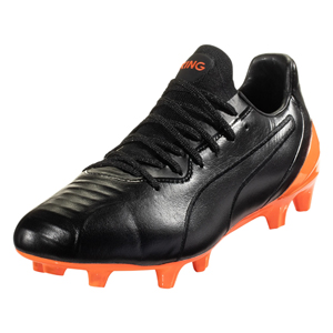 Puma King Platinum FG - Black/Orange 105606-04