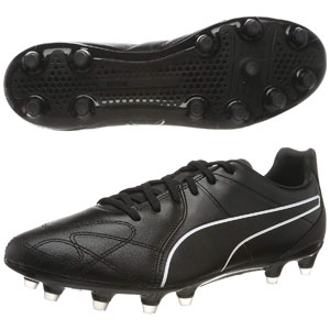 Puma King Hero FG - Black/White 105609-01
