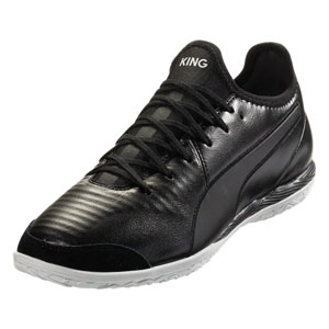 Puma King Pro IT - Black/White Indoor 105669-01