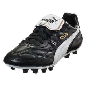 Puma King Top di FG - Black/White/Team Gold 170115-01