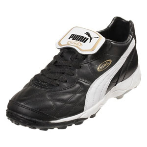 Puma King Allround TT - Black/White/Team Gold Turf 170119-01