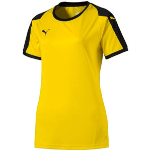Puma Women's Liga Jersey - Yellow/Black 703426-07