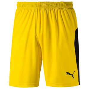 Puma Youth Liga Shorts - Yellow/Black 703433-07