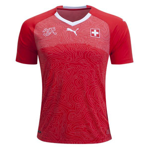 PUMA Switzerland Home Jersey 2018 752478-01
