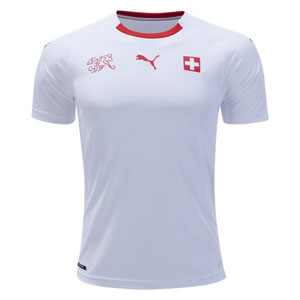PUMA Switzerland Away Jersey 2018 752479-02