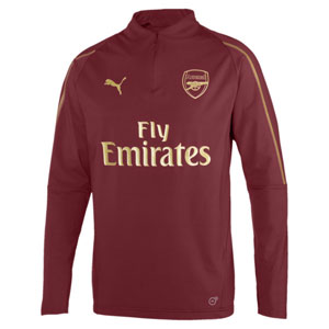 Puma Arsenal Home 1/4 Training Top 2018 753261-03