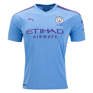 Puma Manchester City Authentic Home Jersey 2019 755585-01
