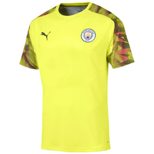 Puma Manchester City Stadium Training Jersey 2019 - Fizzy Yellow 755798-19