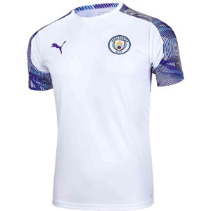 Puma Manchester City Stadium Training Jersey 2019 - White 755798-24