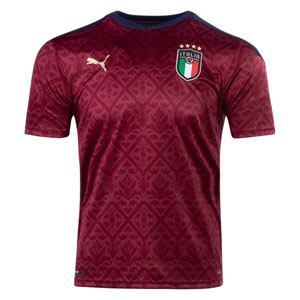 PUMA Italy FIGC Goalkeeper Jersey 2020 - Red 756507-06