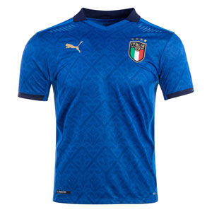 PUMA Italy Home Authentic Jersey 2020 762919-01