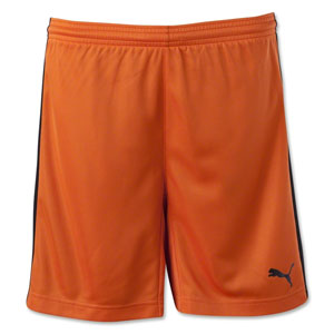 Puma Women's Pitch Shorts - Orange 702331Ora