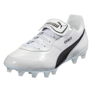 Puma King Top FG - White/Black 105607-02