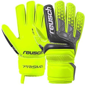Reusch Prisma Prime S1 Finger Support Jr - Safety Yellow/Black 3872230