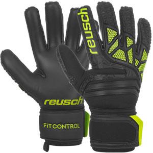 692cad33c Reusch Fit Control FreeGel MX2 - Black Lime Green 3970105