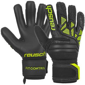 15a4289c7 Reusch Fit Control FreeGel S1 - Black Lime Green 3970205