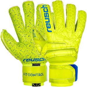 Reusch Fit Control G3 Fusion Evolution Finger Support Glove - Lime/Safety Yellow 3970938