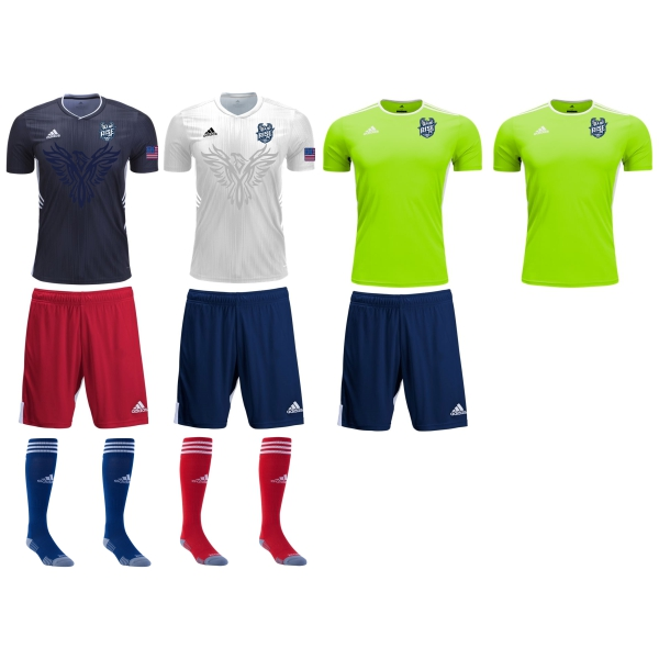 Rise FC - Adult Required Kit RFC-ADKT