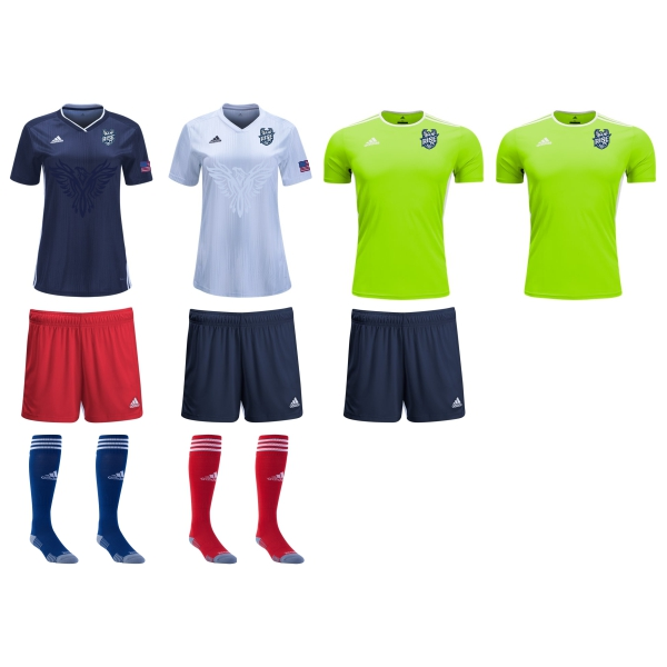 Rise FC - Women's Required Kit RFC-WMNKT
