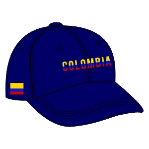 Colombia Fan Cap - Navy E47LGT