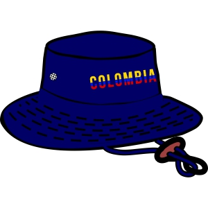 Colombia Sun Hat - Navy C79