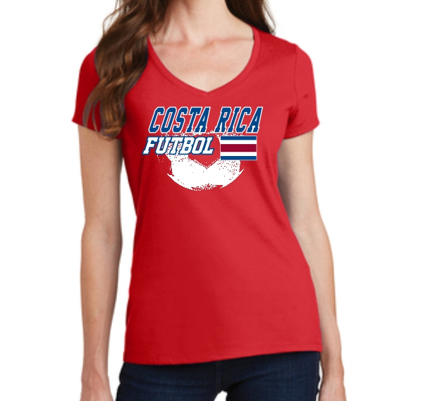 Costa Rica Women's Spirit T-Shirt 2018 CSTARCATW