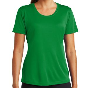Sport Tek Women's Performance Shirt - Kelly Green LST350-KG